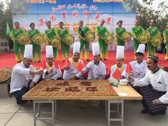 """新疆""""温宿核桃节""""打造品牌助力发展"""