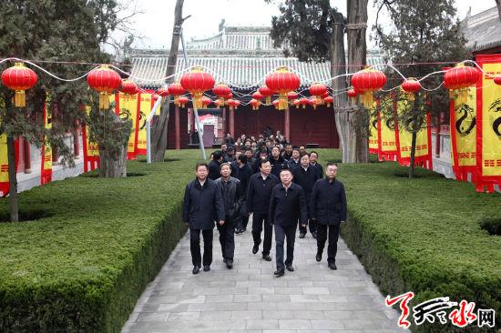 天水市春节系列群众文化活动回眸