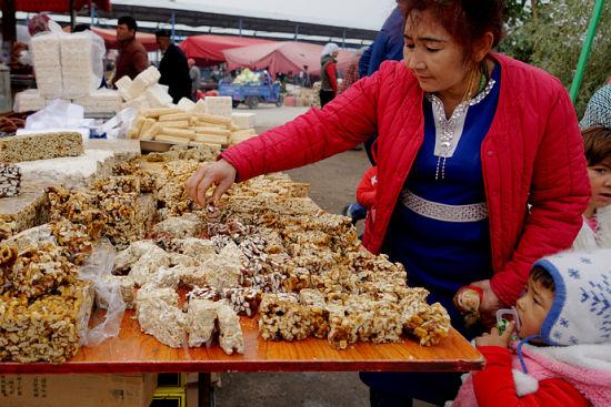 新疆的巴扎就是吃货的天堂