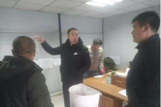 呼和浩特新城区安委办对鸿盛园区人员密集型企业进行专项检查