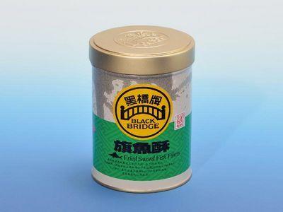 """""""黑桥牌""""旗鱼酥样本汞含量超出法例标准。来源:香港特区政府网站"""