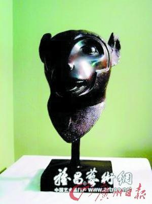明园十二生肖兽首铜像展览,羊首.-法国皮诺家族有望本周归还鼠首