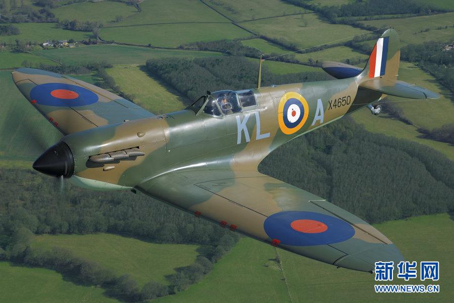 二战时期落水喷气式飞机时隔40年重返蓝天(图)