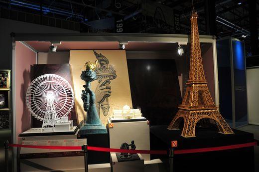 国际展览局馆内的世博展品。