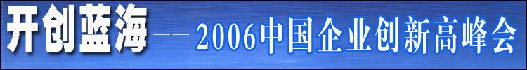 2006企业创新高峰会