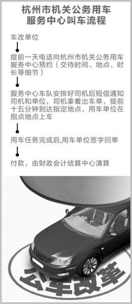 杭州车改两年省3400万 局长骑女儿自行车上下班