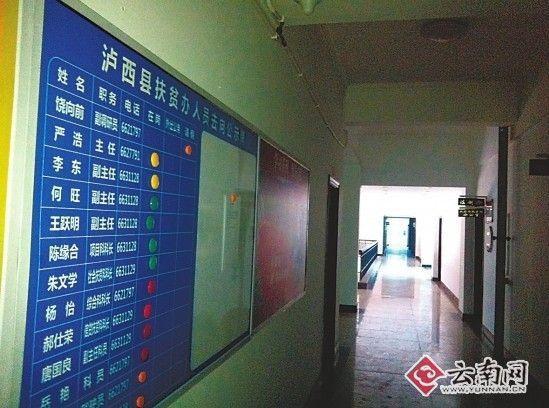 云南泸西县政府放完开门炮继续放假(图)