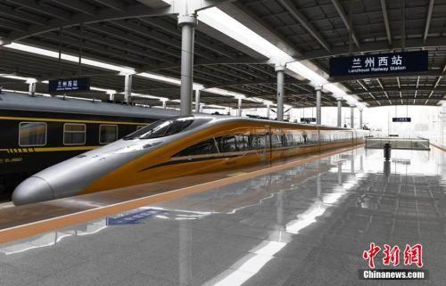 """宝兰高铁通车运营 中国高铁实现""""横贯东西"""""""