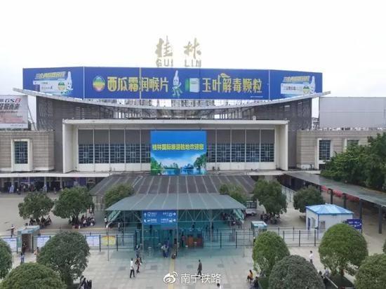 """""""一市九站两高铁""""见证桂林高铁发展速度"""