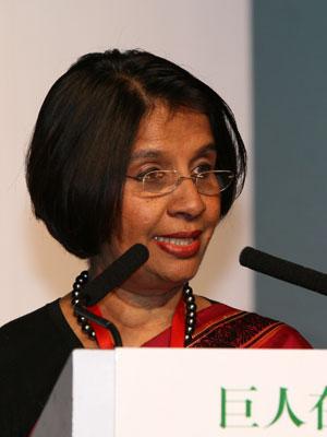 图文:印度共和国驻华大使馆特命全权大使拉奥琦