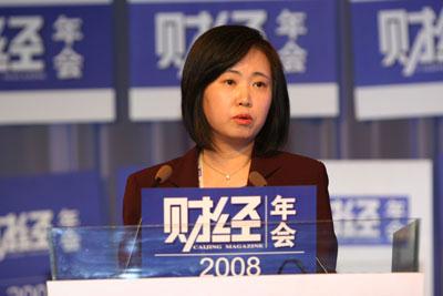 图文:联想集团副总裁李岚