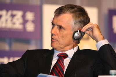 图文:德勤中国首席执行官鲍毅