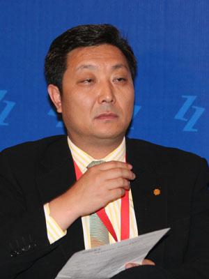 图文:北京白领时装有限公司董事长苗鸿冰