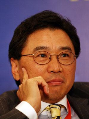 图文:瑞银投资银行亚洲区副主席蔡洪平