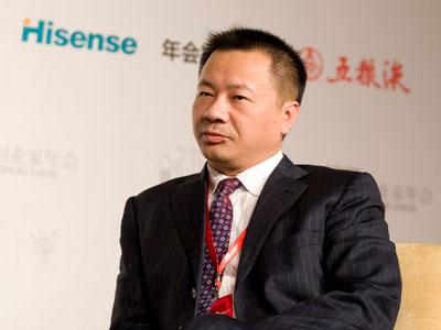 图文:雷士照明控股有限公司总裁吴长江发言
