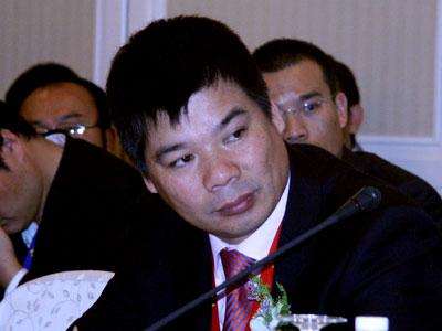 图文:杰克控股集团董事长阮积祥