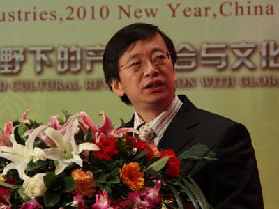 图文:北大文化产业研究院副院长陈少峰