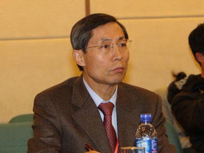 图文:韩国外国语大学文化产业协会会长李永求