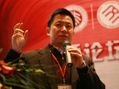 图文:盛大游戏有限公司副总裁左玉龙