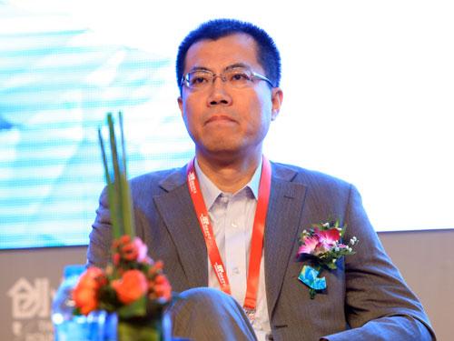 易观国际集团董事长于洋(来源:新浪财经 陈鑫 摄)