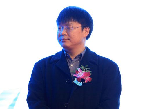 鲜果网创始人梁公军(来源:新浪财经 陈鑫 摄)