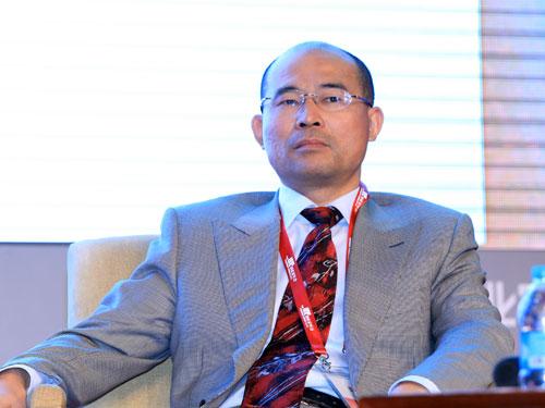 长春金赛药业有限责任公司总经理金磊(来源:新浪财经 陈鑫 摄)