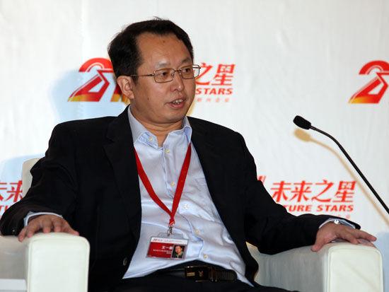 海南省农垦集团有限公司董事长王一新(新浪财经 陈鑫 摄)