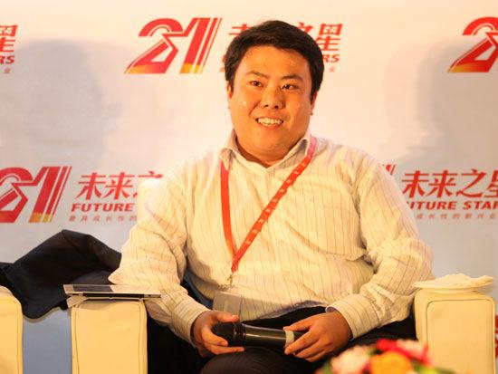深圳市聚成企业管理顾问公司董事长刘松琳(新浪财经 陈鑫 摄)