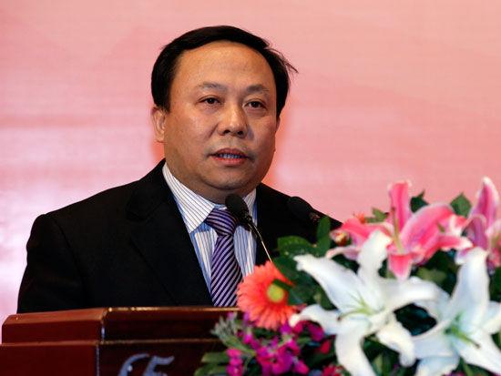 北京歌华文化发展集团总经理李丹阳(新浪财经 陈鑫 摄)
