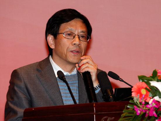 国家行政学院社会和文化部副主任祁述裕(新浪财经 陈鑫 摄)