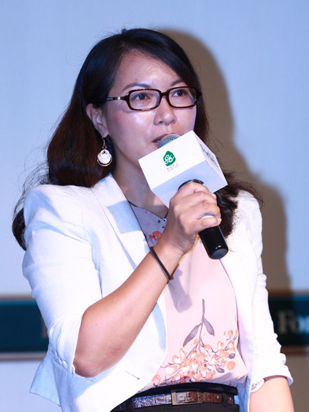 """""""福布斯中国县级城市投资与发展论坛""""于2012年9月26日在江苏昆山举行。上图为红杉资本副总裁陆勤超。(图片来源:新浪财经)"""