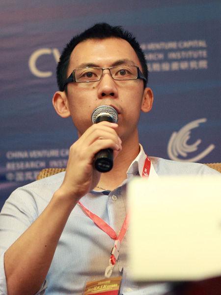 """""""2012中国风险投资论坛―第七届振兴东北投资高峰会""""于9月13-14日在沈阳召开。上图为戈壁合伙人有限公司合伙人徐晨。(图片来源:新浪财经)"""