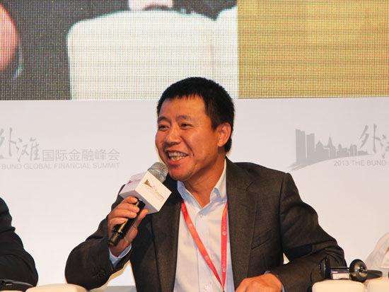 上图为均瑶集团有限公司总裁王均豪.(图片来源:新浪财经 王霄