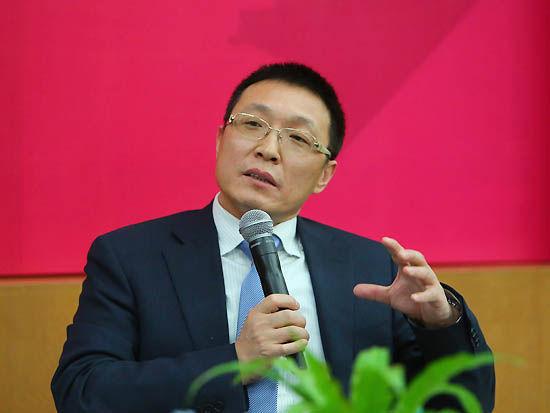 上图为北京大学光华管理学院副院长、EMBA中心主任张志学。