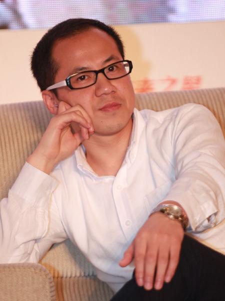 """""""第十四届中国企业未来之星年会""""于2014年6月27日-29日在湖北省咸宁市举行。上图为上海互加文化传播有限公司CEO伏彩瑞。(图片来源:新浪财经 梁斌 摄)"""