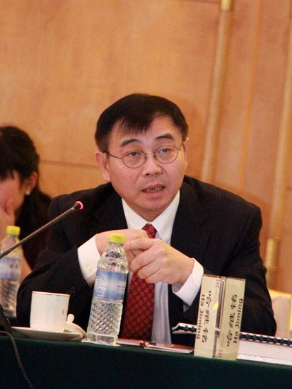 """""""中国经济50人论坛2015年年会""""于2015年2月14日举行,年会主题:新常态下的""""十三五""""规划思路。上图为高盛投资管理部中国副主席哈继铭。(新浪财经 刘海伟 摄)"""