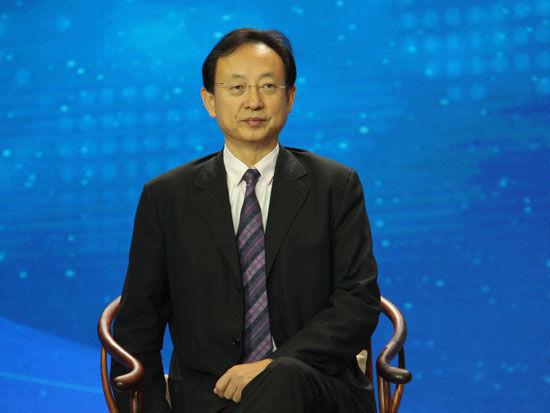 """""""首届全球社会企业家生态论坛""""于2015年11月25日-27日在北京召开。上图为步长集团总裁赵涛。(图片来源:新浪财经)"""