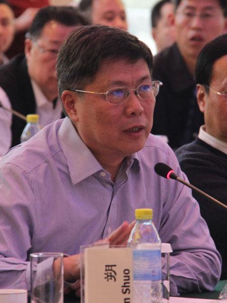 """""""中国经济50人论坛2016年年会""""于2月19日在北京召开。上图为国务院参事汤敏。(图片来源:新浪财经)"""