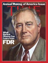 《时代周刊》封面文章:罗斯福总统的传承