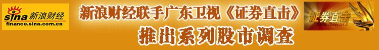 广东卫视与新浪财经股市系列调查