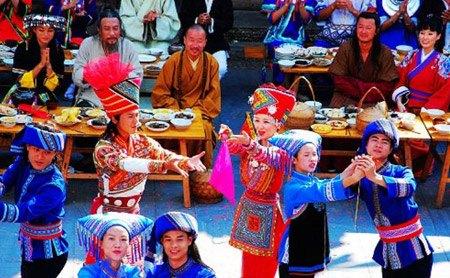 《刘三姐》与侗族百家宴(组图)