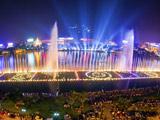亚洲最大的水上喷泉