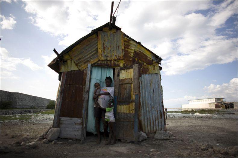 在海地生孩子真不容易