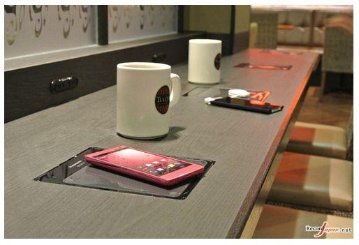 松下率先在日本90家店铺内导入无线充电器
