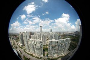 中国房子沉淀量太大