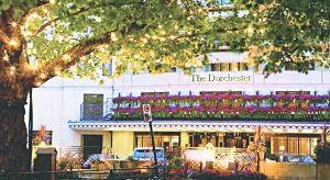 ▲奥运官员的这顿午餐是在伦敦的高档酒店多切斯特酒店(Dorchester)消费的。