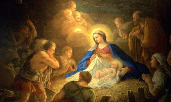 耶稣诞生图