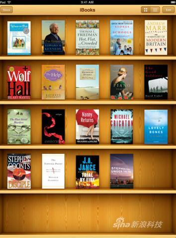 苹果图书下载与阅读应用 iBooks 3.0.2