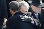 奥巴马送别布什