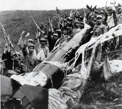 1965年空军击落美制侦察机全国欢欣鼓舞